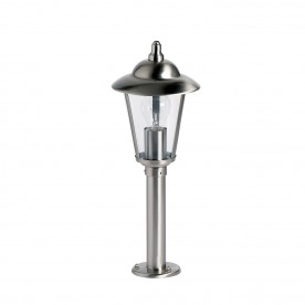 Klien post IP44 60W floor - polished stainless steel