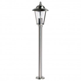 Klien bollard IP44 60W floor - polished stainless steel