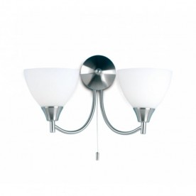 Dewberry 2 Light - Satin Nickel