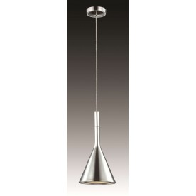 Rene Ceiling Pendant Light - Sand Chrome