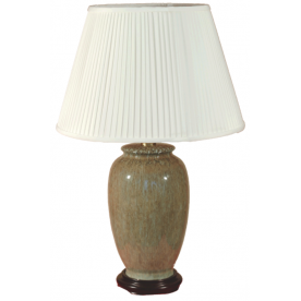 TL133-3847 - Natural Stone Effect Table Lamp Complete