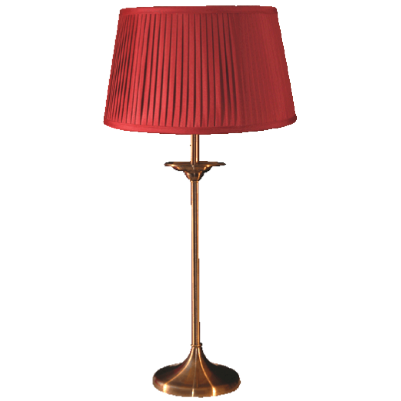 Elegance Medium Table Lamp Antique Complete
