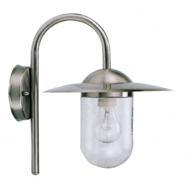 Edam Wall St. Steel Wall Light