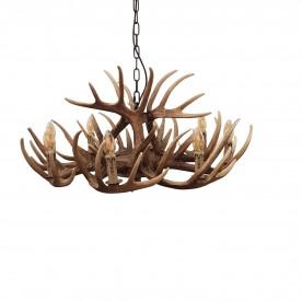 Deer 8 Light Ceiling Light