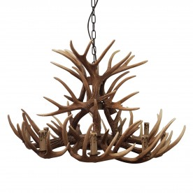 Deer 9 Light Ceiling Light