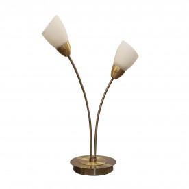 Furama 2 Light Table Lamp - Antique