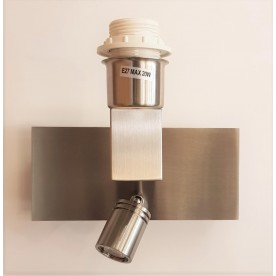 LINZ Wall - Satin Nickel