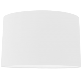 Oval White Card Shade 8""