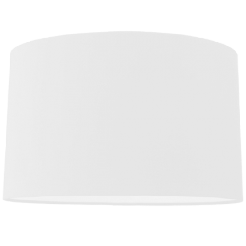 """Oval White Card Shade 8"""""""