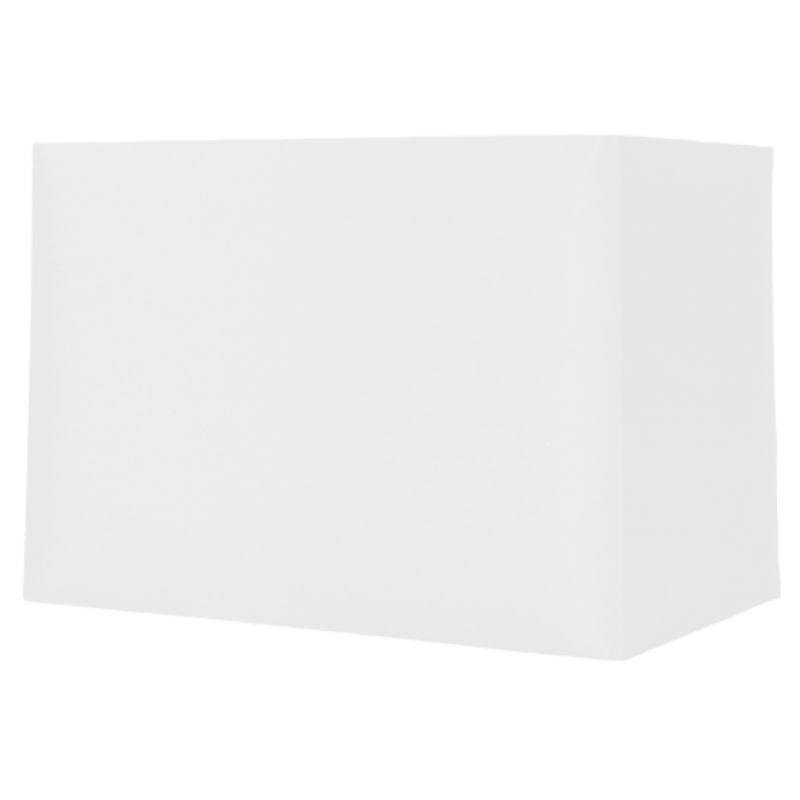 """Rectangle White Card Shade 8"""""""