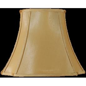 "10"" Oval Cut Corner Champagne Lamp Shade"