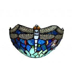 Blue Dragonfly Tiffany Wall Washer