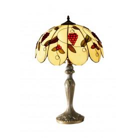 """Grapes Tiffany 16"""" Table Lamp"""