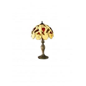 """Grapes Tiffany 8"""" Table Lamp"""