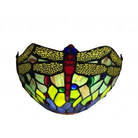 Green Dragonfly Tiffany  Wall Washer