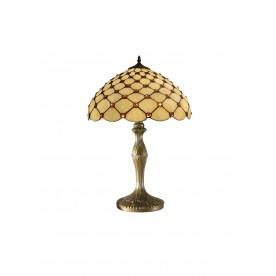 "Jewel Tiffany 12"" Table Lamp"