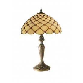 "Jewel Tiffany 16"" Table Lamp"