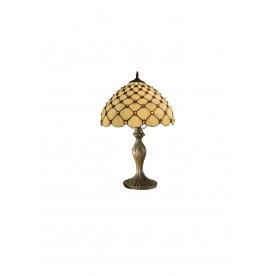 "Jewel Tiffany 8"" Table Lamp"