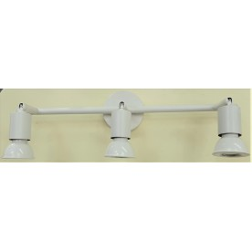 Austin Bar 3 Light - White