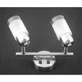 Detroit 2 Light Bar - Satin Nickel