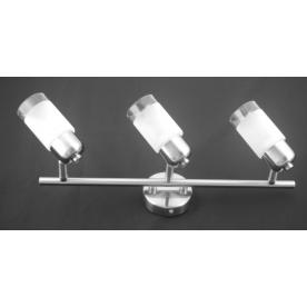 Detroit 3 Light Bar - Satin Nickel