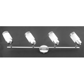 Detroit 4 Light Bar  - Satin Nickel