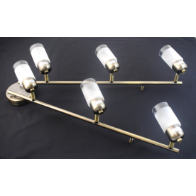 Detroit 6 Light Bar - Antique