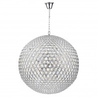 Fiesta 12 Light - Pendant Polished Chrome