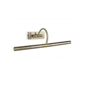 Capri Twin Picture Wall Light - Brass