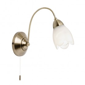 Flurette Wall 1 Light - Antique