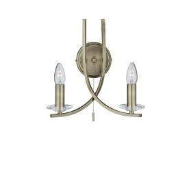 Radial 2 Wall Light - Antique