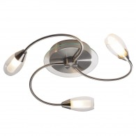 Tempo 3 Light Flush - Satin Chrome