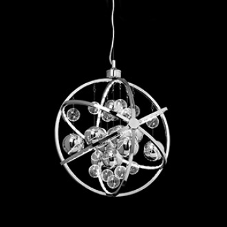 Pluto Pendant - 480mm - Chrome