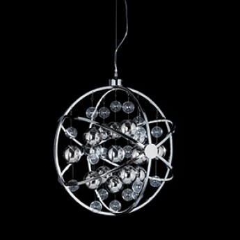 Pluto Pendant - 600mm - Chrome