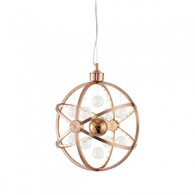 Pluto Pendant - 390mm - Copper