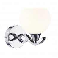 Aruba Single Wall Bracket - Polished Chrome