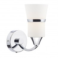Dublin Single Wall Bracket - Polished Chrome