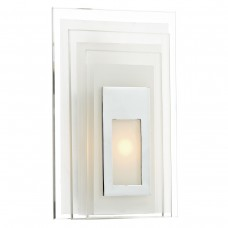 Binary Led Glass Wall Bracket