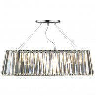 Cecilia 3 Light - Oval Linear - Pendant Bar