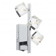 Union 3 Light Wall Bracket - Polished Chrome