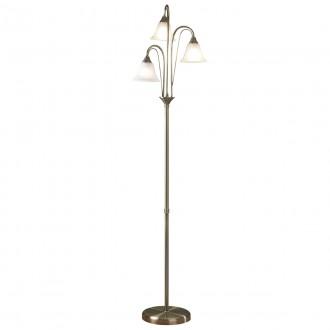 Parma Floor Lamp - Antique - Glass
