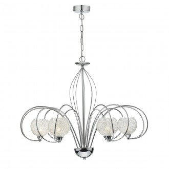 Rafferty 6 Light Pendant Dual Mount - Polished Chrome