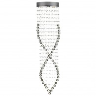 Rebecca 6 Light Pendant - Decorative Crystal