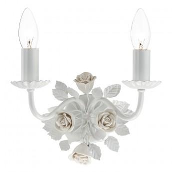 Saskia Double Wall Bracket - Gloss White