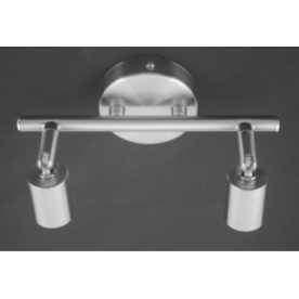 Austin Bar 2 Light  - Satin Nickel