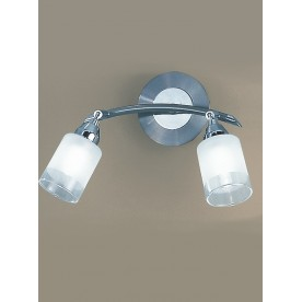 SALERNO WALL TWIN SATIN AND CHROMEmpani DP40022