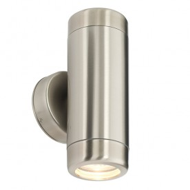Atlantis 2lt wall IP65 7W - marine grade brushed stainless steel