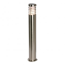 Bliss bollard IP44 9.2W warm white floor - brushed stainless steel