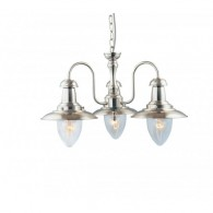 Cadiz 3 Light - Satin Silver