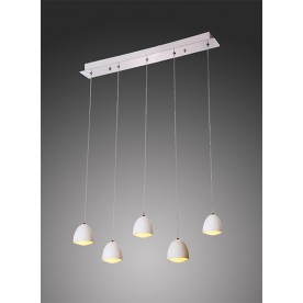 Polo 5 LED Pendant